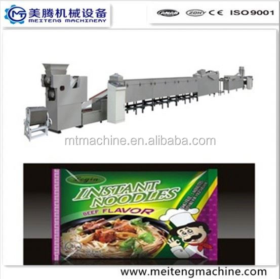 Extruded instant noodle making machinery