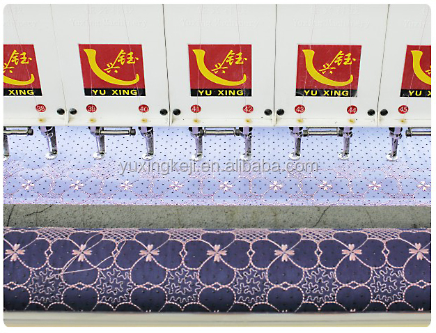 Yuxing 38 heads computerized quilting and embroidery machine