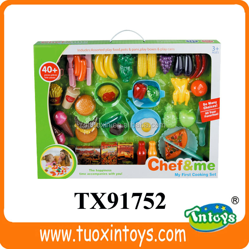 plastic fake food model (51 pcs)