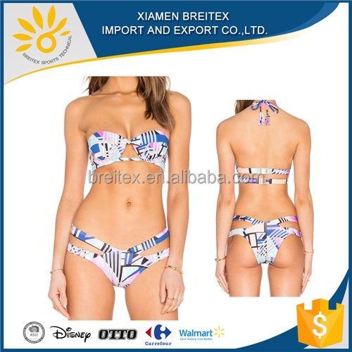 Hot sale swimsuit high quality bikini sexy two pieces women's swimwear