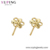 Xuping fashion 24k gold plated jewelry new designs dubai gold jewelry earring stud