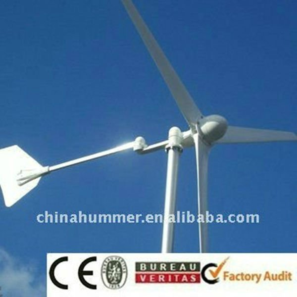wind turbine generator 500 watts 24 volts charging new design