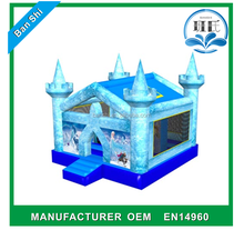 Hot sale inflatable jumper house, small inflatable indoor bouncer, inflatable bouncer frozen