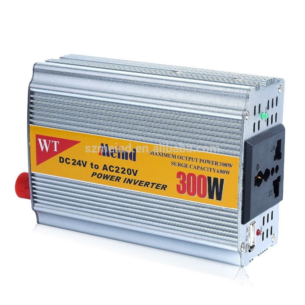High quality and good price Meind DC12V to AC100V-240V 200W,300W,350W car or trucks power inverter