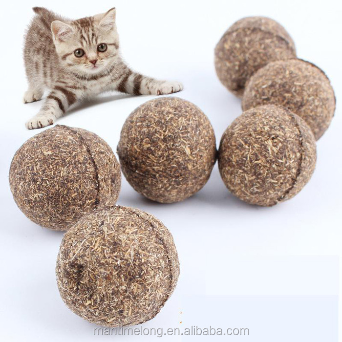 Natural Catnip Ball, Menthol Flavor, cat toy toy for cat toy cat 100% Edible Cats-go-crazy Treats