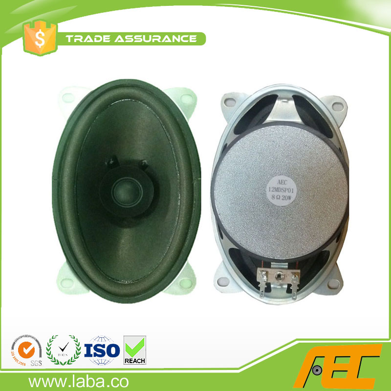 Good sound 8 ohm 20w mini oval television speaker