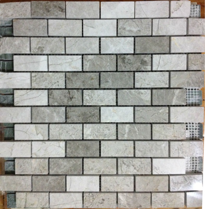 Silver Mosaic 2,3 X 4,8 Mosaic Tiles Turkish Mosaics For Interior Walls Marble Mosaics Travertine Tiles Emperedor Mosaics Turkey