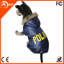 Winter Waterproof Dog Coat Four Legs Dog Clothes Small Police Dog Clothing