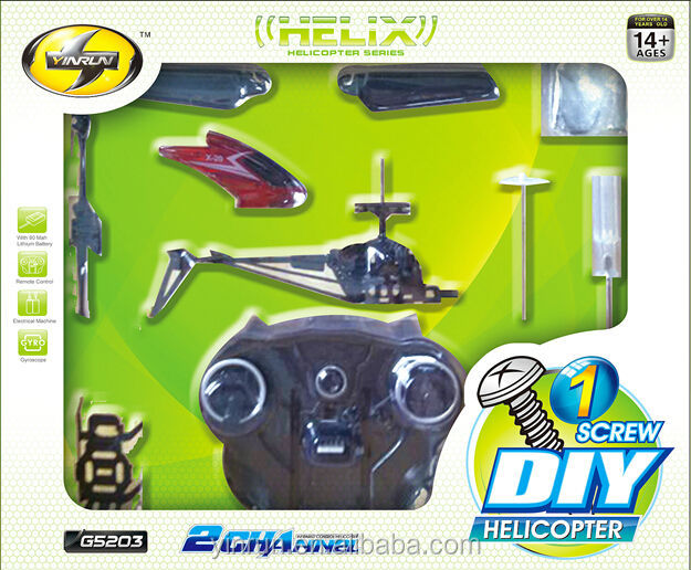 Do-it-yourself helicopter kits with low-cost and easy-to-build education toy new toys for christmas 2014