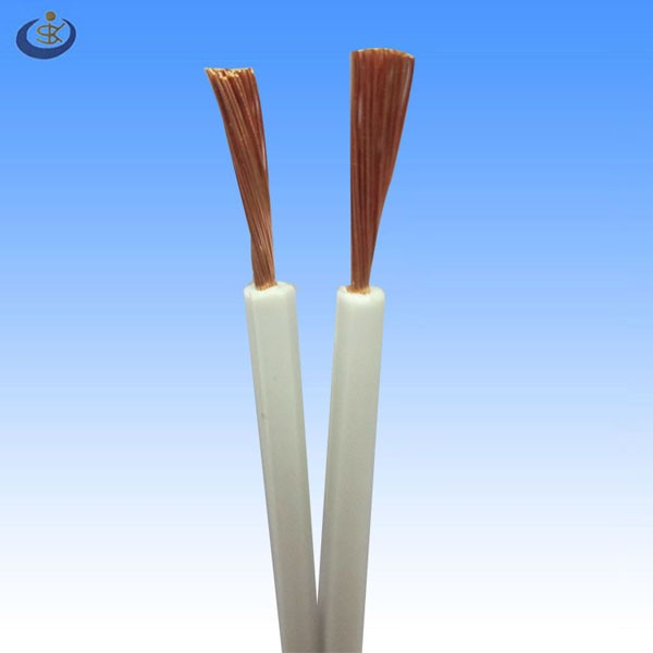 UL approval USA SPT-1 SPT-2 105C 300V pure copper conductor 18AWG*2C pvc insulation parallel flat cable for lamp