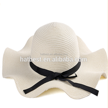 Top Fashion Ladies Floppy Beach Summer Sun Paper Straw Hat