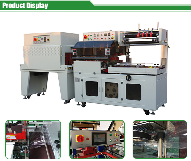 Auto Sealing Machine Heat Shrink Tunnel Shrink Wrap Machine