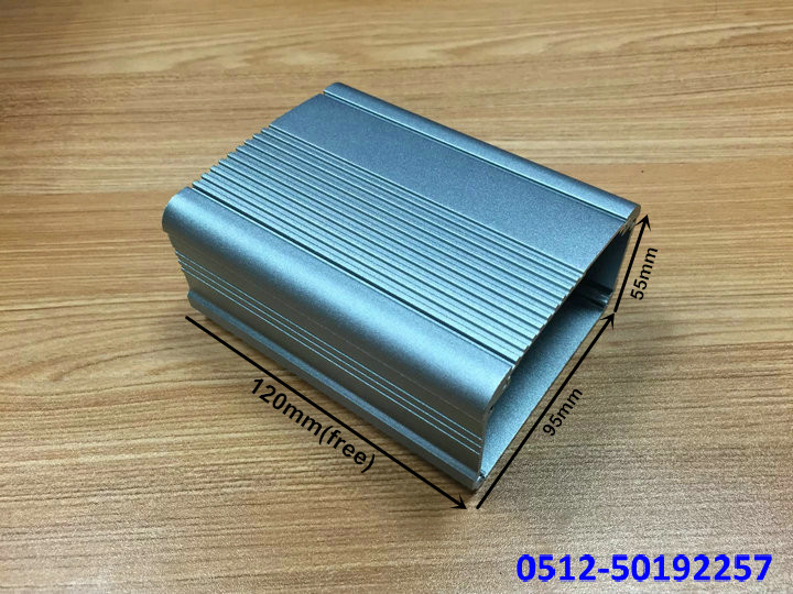 zk-6036/ 55*95*120mm aluminum shell large metal enclosure power case controller cabinet junction box