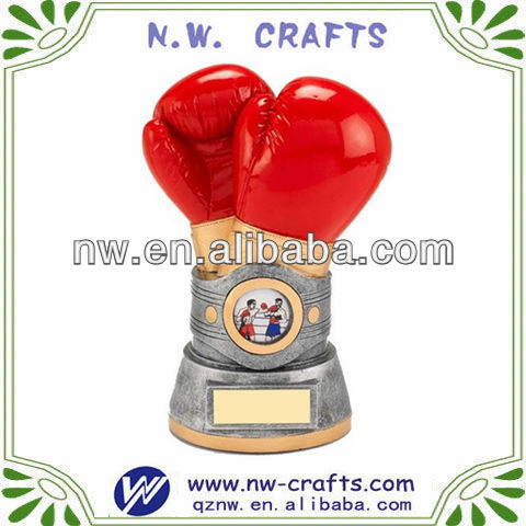 Resin boxing sports souvenirs crafts