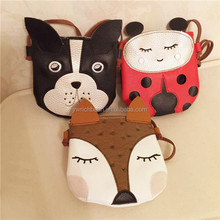 cute puppy small fox Ladybug Satchel Bag children decoration package Purse Bag