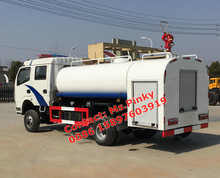 Dongfeng Military Off Road Fire Water Truck Al Wheel Drive 4x4 Spraying Water Trucks with Fire Monitor For Sales
