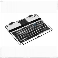 [New] For Samsung Galaxy Note 10.1 N8000 Aluminum bluetooth keyboard case P-SAMN8000BTHKB001