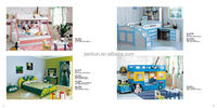 cartoon MDF kids bedroom furniture india kids bus bed