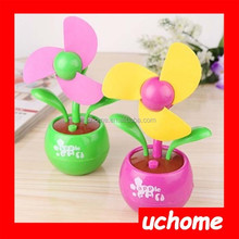 UCHOME factory sell apple Blossom Fan USB Mini Candy-colored Cartoon Mini Fan