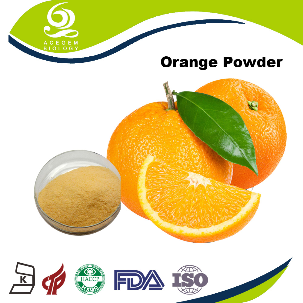 100% Water Soluble Instant Orange Juice Powder Flavour Vitamin C