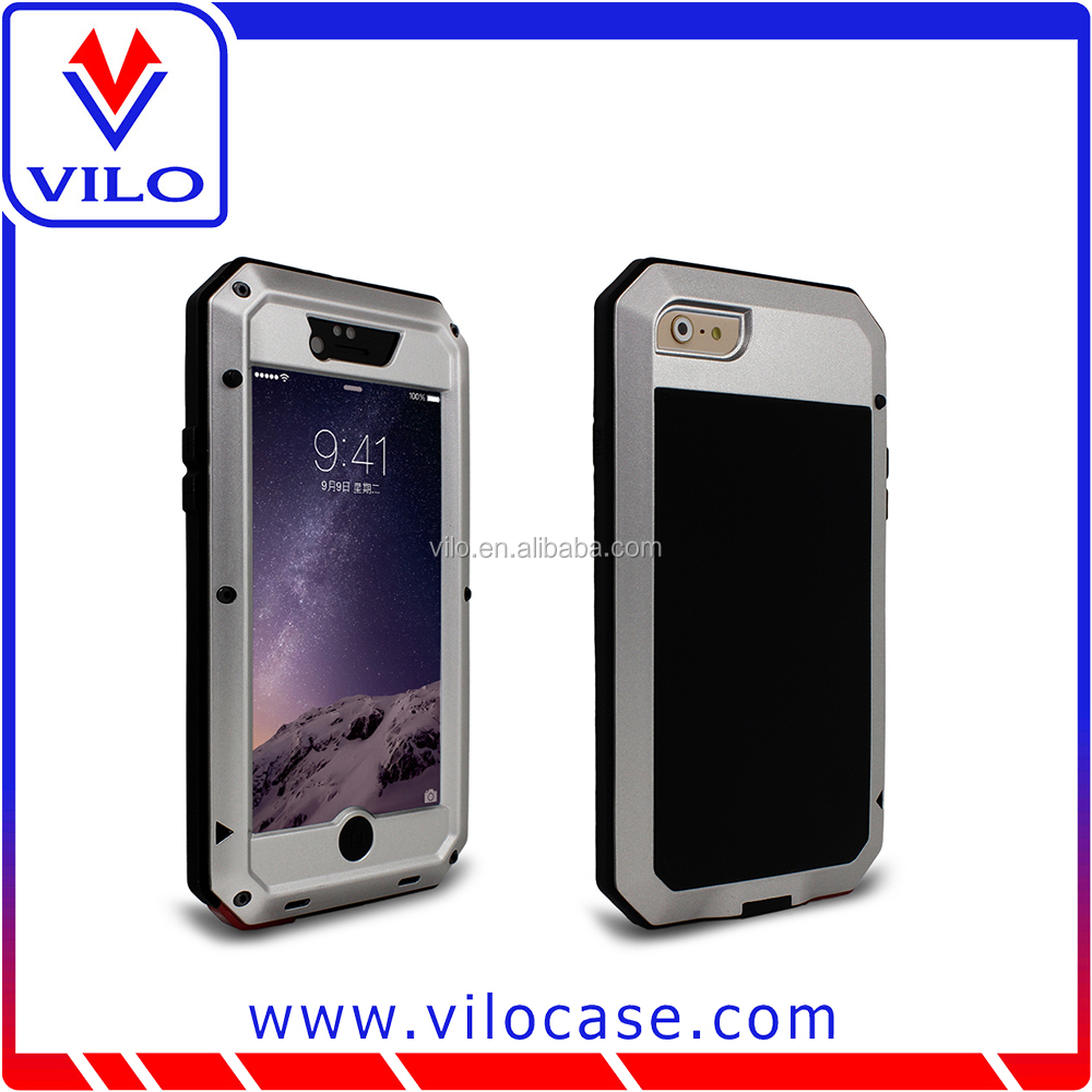 2015 New Products Mobile Phone Aluminum Waterproof Case For Iphone 6
