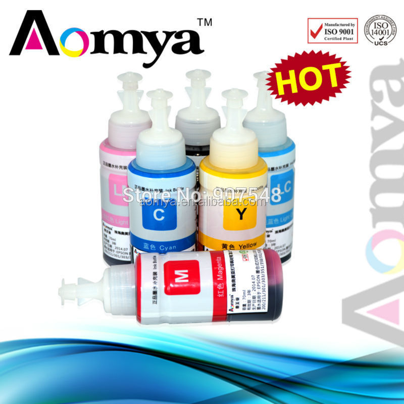 MSDS certification!!!High quality refill dye ink for Epson L110 for Epson L-series