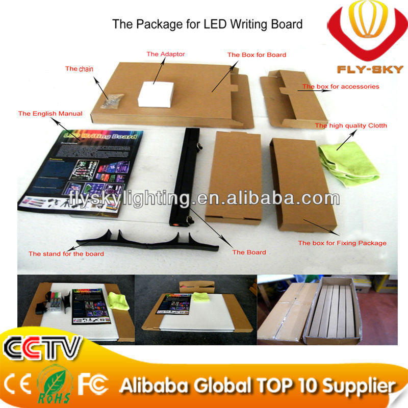 Wholesale Alibaba 2016 new products low price LED light board for promotion new item CE&ROHS