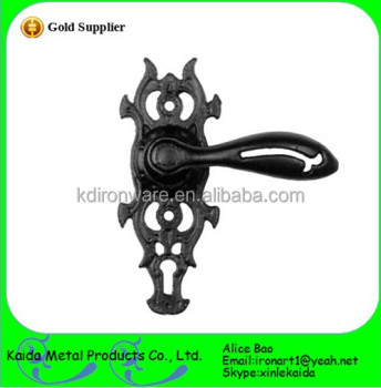 Cheap Ornamental Cast Iron Door Pull Handles For Wholesale/distributor In  China
