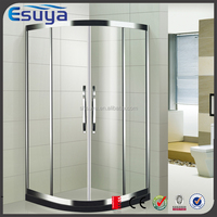High quality aluminium alloy frame tempered glass frosted glass hot shower room