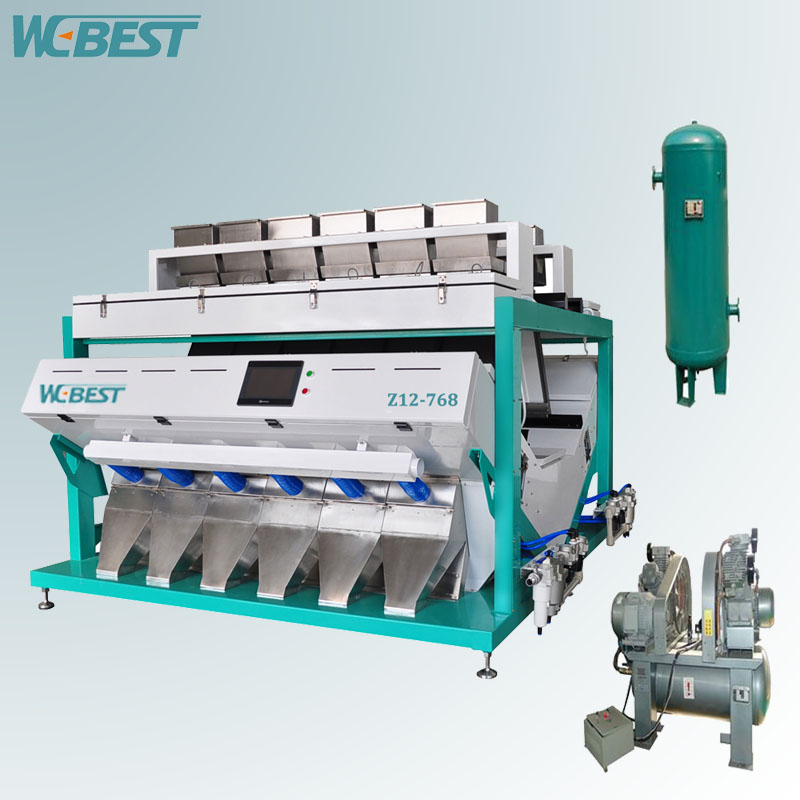 Optical nut Color Sorting Machine and seed color separator/cumin seed importers sorter