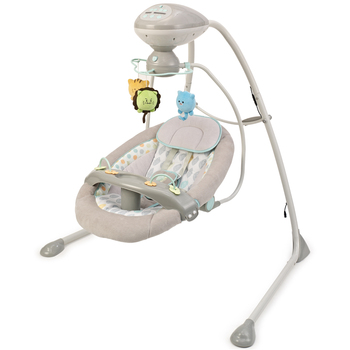 China manufacturer baby cradle swing with plastic shell seat