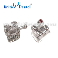 Sinitic Dental orthodontic china supplier fake teeth brace removable self ligating brackets