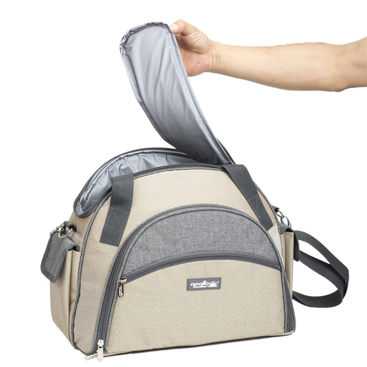 Newly designed portable one-shoulder picnic backpack bag