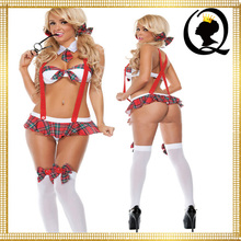 2016 New Design Naughty Student Costume High School Girl Uniform Student Roleplay Costume