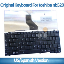Brand new and original FOR TOSHIBA NB500 NB520 NB505 US ENGLISh Laptop replacement keyboard
