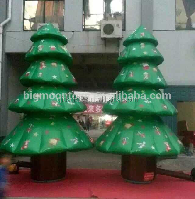 Hot sale artificial christmas tree Christmas Inflatable Santa xmas decoration items