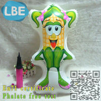 14 new model advertising cartoon Inflatable corn balloon for kids
