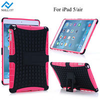 High Quality Heavy Duty 2 in 1 Robot Hybrid Case Cover Stand for New iPad Air