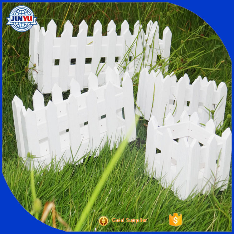 Hot sale mini flower wooden types of fences