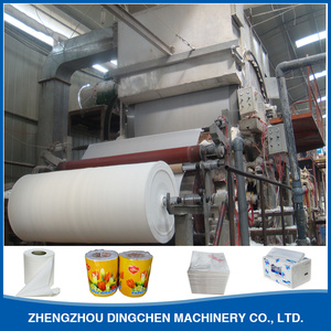 High Quality Full Automatic Soft Toilet Facial Tissue Paper Making Machine Cost Prices For Sale