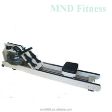 2017 New Design Body Building Wooden Water Rower Exercise Home Machine Gym Fitness Equipment