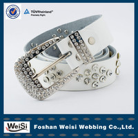 customized design wholesale western beaded belts with rhinestones