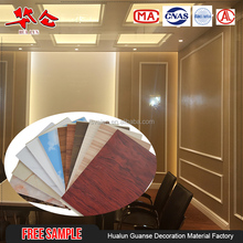 2018 Lamination hot stamping printing cheap pvc ceiling and wall panel, custom 60cm integrated wallboard