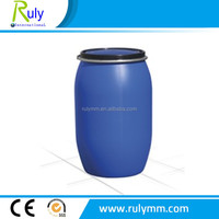 200L open top HDPE plastic barrel blue drum for sale