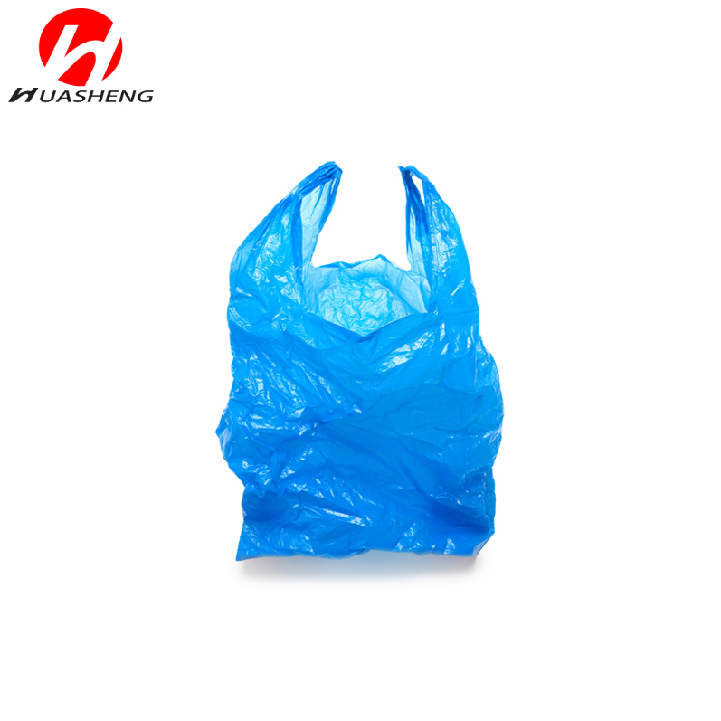 HDPE T-shirt Pack Plastic Bag 18x8x28inch 15mic 500pcs per case