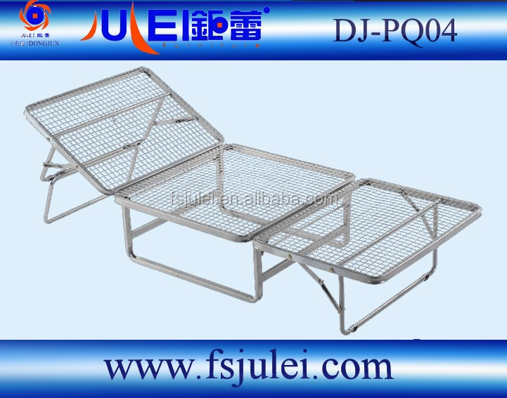 strong steel net ottoman folding bed frame DJ-PQ04