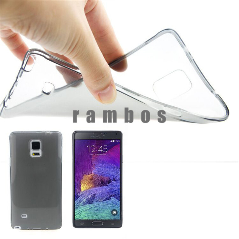 0.45mm Ultra Thin Clear Crystal TPU Silicone Soft Case Back Cover Capas Para for Samsung Galaxy S4 Mini J1 J5 J7 Note 3