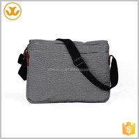 Suitable for teens stylish oxford long black and white stripes shoulder strap book bag