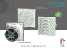 China manufacturer electric panel board filter mini box fan, small heat resistant fan