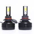 cob led auto head light H1 H3 H4 H7 H8 H10 880 881 universal led headlights for cars 12v 24v
